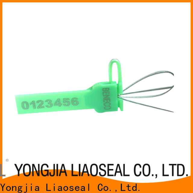 High-quality electric meter seals company For rail trucks