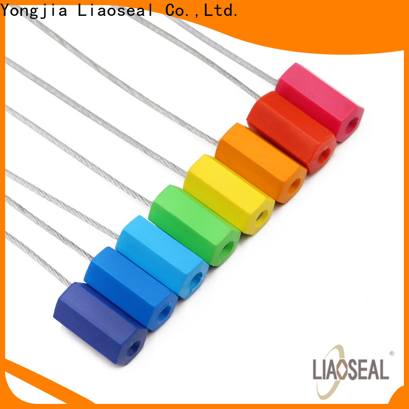 Best metal cable seals Suppliers for chemical drums