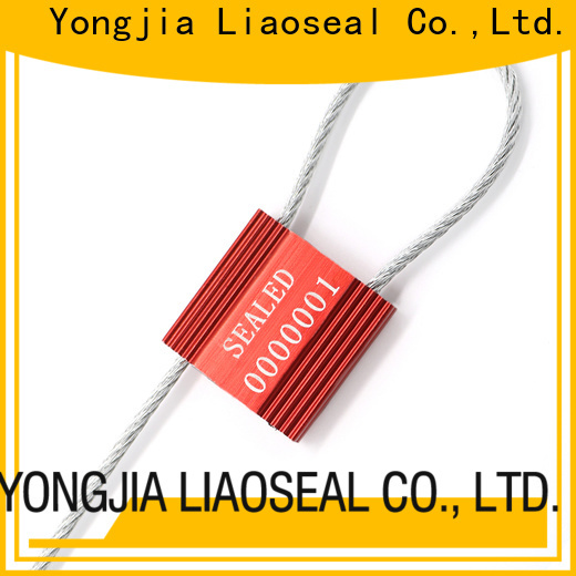 Wholesale metal cable seals Supply for chemical drums