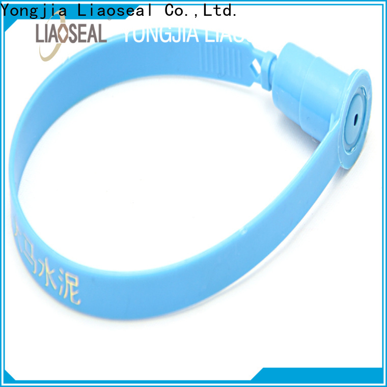 High-quality numbered plastic security seals for business for fire doors