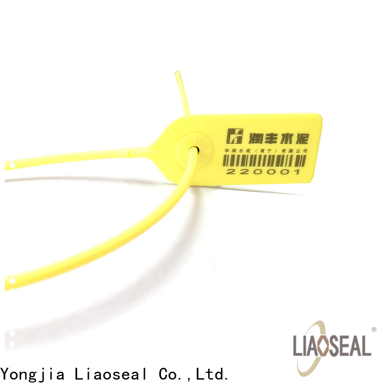 Custom plastic security seals for business for baggage